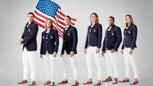 Apresentação dos uniformes olímpicos norte americano assinados por Polo Ralph Lauren