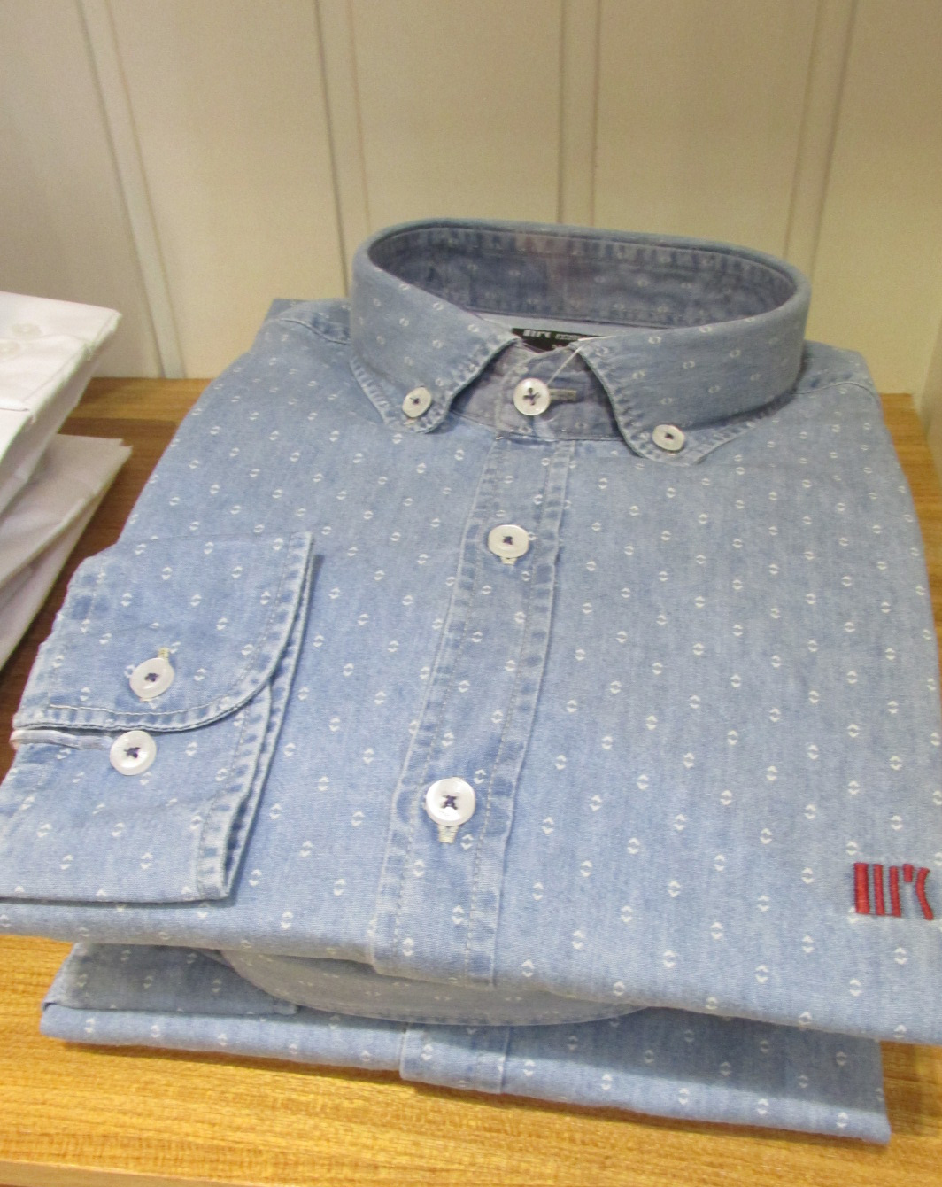 Camisas Jeans Maquinetada Men´s 2