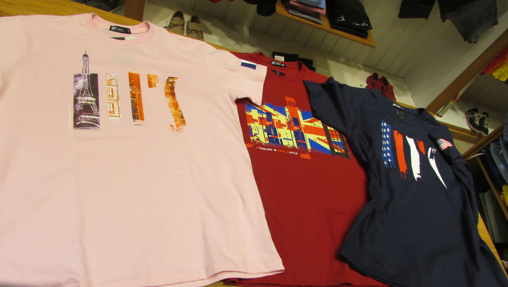 Camisetas Olímpicas