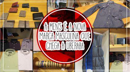 MEN'S – NOVO CONCEITO EM MODA MASCULINA