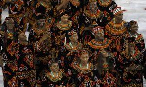 Delegação de Camarões
