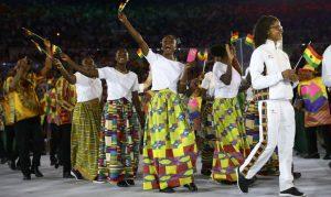 Delegação  Gana