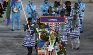 Delegação  Serra Leoa