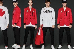 Uniforme social canadense assinado pela Dsquared2