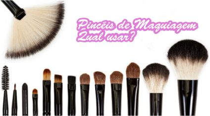 Pincéis de Maquiagem: qual usar?