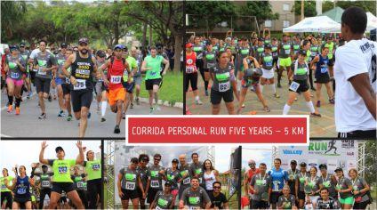 CORRIDA PERSONAL RUN FIVE YEARS – 5 KM