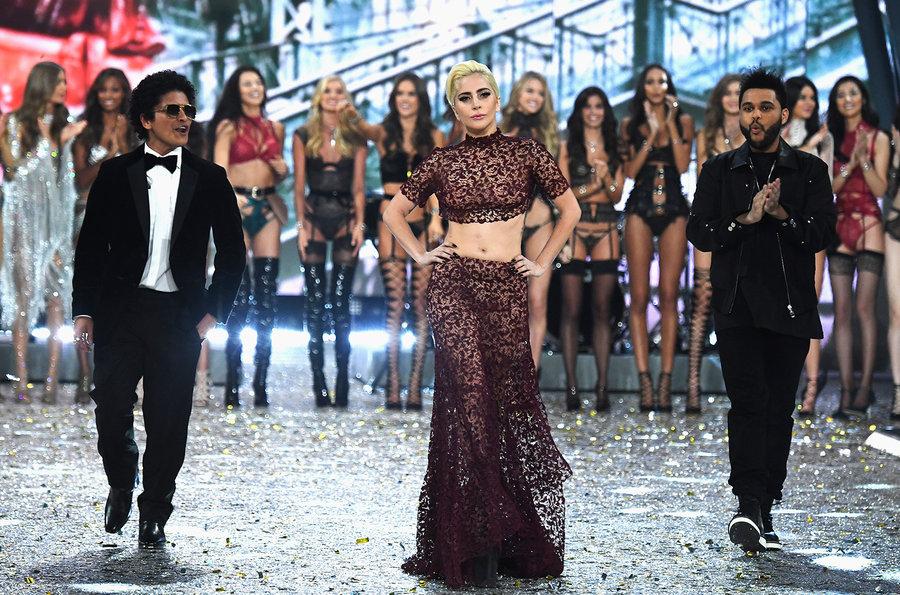 Bruno Mars, Lady Gaga e The Weekend no VSFS