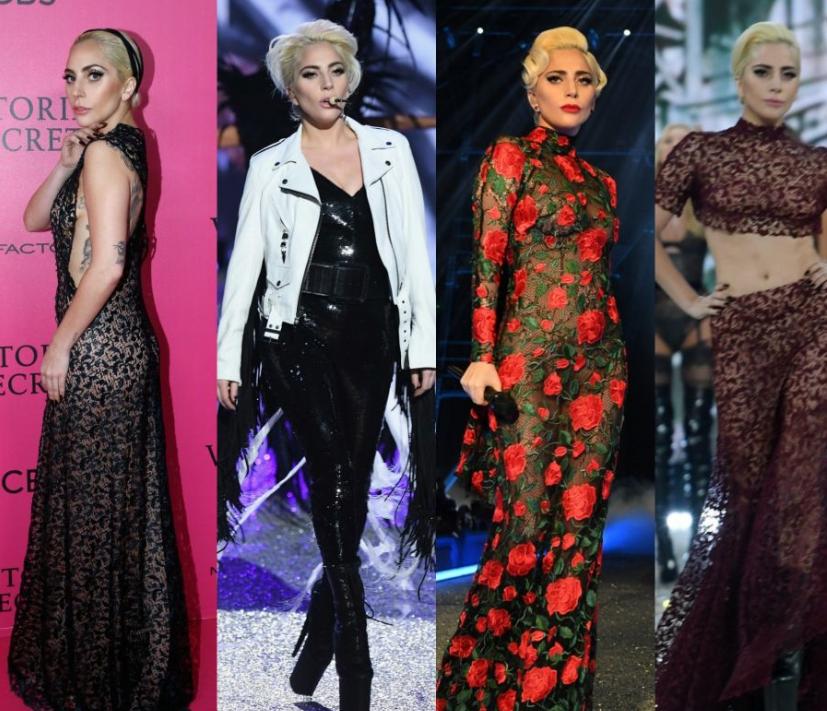 Lady Gaga e seus looks no VSFS